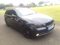 BMW 330D DIESEL TOURNING 2006 MINT FULL BMW HISTORY SAT NAV LEATHERS NEW CLUTCH+FLYWHEEL FOR £2050