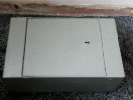 Wall or floor mounted safe