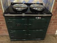 Immaculate AGA EC3 cooker