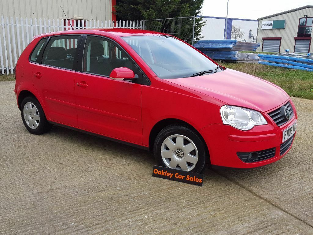 2006 06 volkswagen polo 1 4 s tdi 5 door manual diesel in red fvwsh in corby northamptonshire. Black Bedroom Furniture Sets. Home Design Ideas