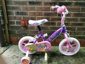 Little girls bike 3 years plus