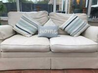 Laura Ashley 2 seater sofa and 3 seater sofa