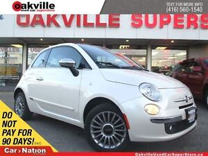 2013 Fiat 500C Lounge C | 5 SPD M/T | LEATHER | BLUETOOTH | ONE