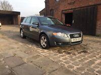 Audi A4 AVANT 2.5 TDI 12 months mot JUST HAD FULL VALET READY FOR NEW KEEPER