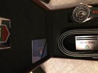 Tag Heuer belt and watch set