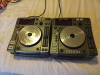 CD Deck Pair - Denon DNS1000