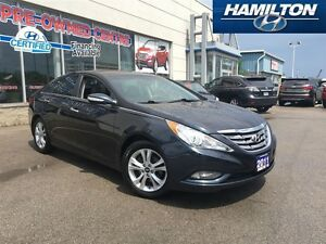 2011 Hyundai Sonata | LIMITED | LEATHER | ROOF | ALLOYS | TRADED