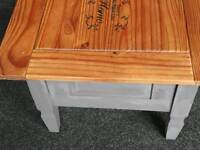 Coffee table with draw