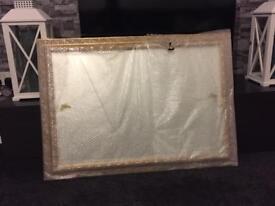 Large Ornate Gold Framed Mirror