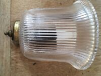 Laura Ashley living room wall lights. Lovely glass pattern with brass .