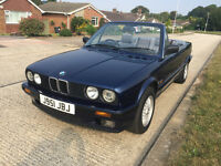 BMW E30 318I Cabriolet Very Good Condition Lots of History Not 325i Convertible