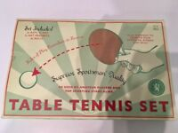 Table Tennis Set (Preowned, Very Good Condition)