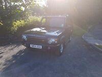 1 Years MOT Land Rover Discovery 4X4 04 Reg Td5 Diesel