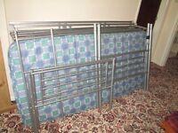 bunk beds and mattress's