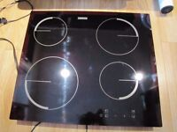 "ELECTRIC CERAMIC HOB ZANUSSI SIZE OF HOLE 19"" 22"""