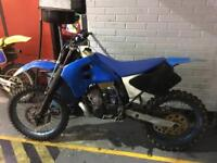 Motor cross tm 250 2 stroke 1997 swap 4 stroke