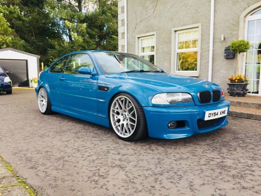 Bmw M3 E46 2004 Laguna Seca Blue Px For B8 A4 Or Bmw