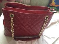 brand new red bag