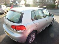 VW Golf TDI Match 5dr (silver) 2011