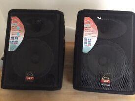 FINAL PRICE REDUCTION!! 2 x Whardale Pro EVP-X12M Speaker £120