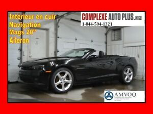 2015 Chevrolet Camaro 2LT RS Package Convertible *Navi/GPS,Cuir
