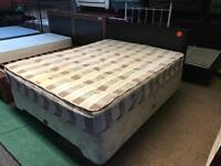 King size divan bed complete