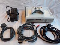 Xbox 360 60GB console + one controller