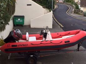 ZODIAC PRO 500 RIB 60 HP - GREAT CONDITION -FULLY REFURBISHED THIS YEAR