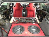 Jaguar F type recaro bucket seats