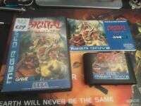 Brutal Paws of fury sega megadrive complete great condition