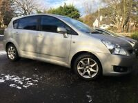 2007 TOYOTA COROLLA VERSO 2.2 D-4D SR 140 BHP 7 SEATER MPV 6 SPEED 1 PREVIOUS OWNER FSH