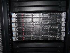 HP DL360p G8 SFF Enterprise Server 2X E5-2680 V2 3.60GHz 10-Cores 384GB 8X1TB-SATA 7.2K  P420/1GB/RAID 2PSU RACK-RAILS