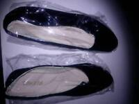 Black dolly shoes size 41/7