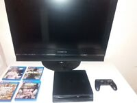 PS4+ 4 GAMES+ TV DAEWOO 32 INCH HD!! GOOD OPPORTUNITY