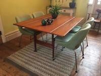 1960s/Mid Century Danish Rosewood Coffee/Dining Table by Kai Kristiansen for Vildbjerg Mobelfabrik