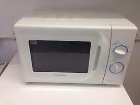 Zanussi Fridge £25 & Cookworks Microwave £10