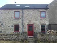 3 bedroom rural stone house in private location with garden near St Nicholas