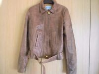Guess by Marciano Leather size 42 Brown Jacket