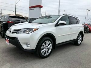 2015 Toyota RAV4 LIMITED TECH PKG+XTRA WARRANTY-120,000 KMS!