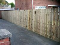 Wooden Garden Fencing & Gates Contractors Belfast Lisburn North Down