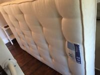 SMALL DOUBLE MATTRESS COST £400 - 4 foot, excellent condition