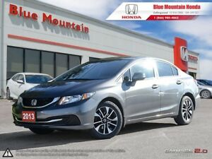 2013 Honda Civic EX AUTO- w/ Honda Plus Ext Warranty to 130,000k