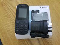 New NOKIA 105, NOKIA 130 Unlocked Mobile Phone UK MODEL
