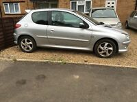 Peugeot 206 1.6 QuickSilver 2005 still insured, AA/rac welcome bargain very reliable car