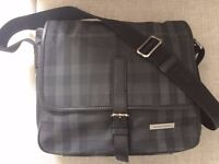 Burberry Men's London-checked messenger bag £125