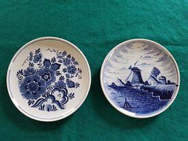 Delft Blue and White Plates