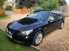 BMW 2.0 520d SE Business Edition Saloon 4 door Diesel Manual / BLACK