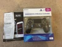Brand new PS4 controller with receipt