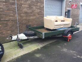 Caravan Chassis Trailer