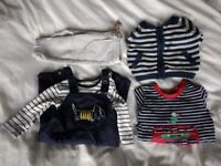 Baby boy bundle 0-6 months